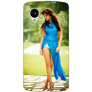 Jugaaduu Bollywood Superstar Anushka Sharma Back Cover Case For Google Nexus 5 - J40987