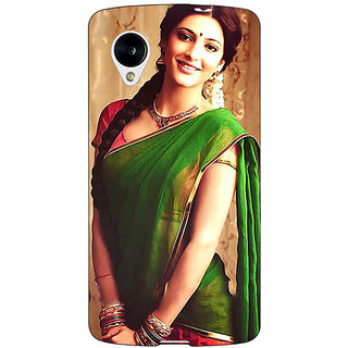 Jugaaduu Bollywood Superstar Shruti Hassan Back Cover Case For Google Nexus 5 - J41017