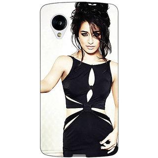 Jugaaduu Bollywood Superstar Shraddha Kapoor Back Cover Case For Google Nexus 5 - J41018