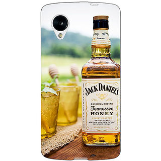 Jugaaduu Jack Daniels JD Whisky Back Cover Case For Google Nexus 5 - J41211