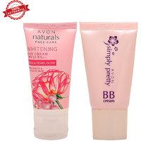 Avon-Whitening Day Cream SPF 15 with Avon BB cream