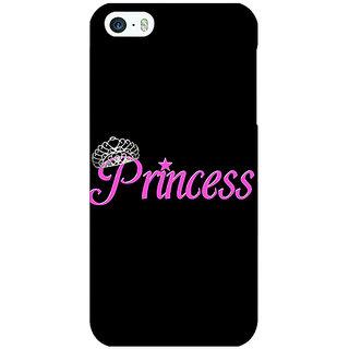 Jugaaduu Princess Back Cover Case For Apple iPhone 5c - J31398