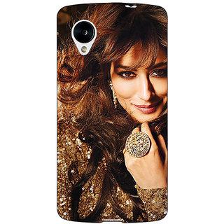 Jugaaduu Bollywood Superstar Chitrangada Singh Back Cover Case For Google Nexus 5 - J41034