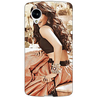 Jugaaduu Bollywood Superstar Chitrangada Singh Back Cover Case For Google Nexus 5 - J41035