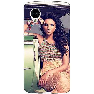 Jugaaduu Bollywood Superstar Parineeti Chopra Back Cover Case For Google Nexus 5 - J41062