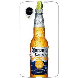 Jugaaduu Corona Beer Back Cover Case For Google Nexus 5 - J41247