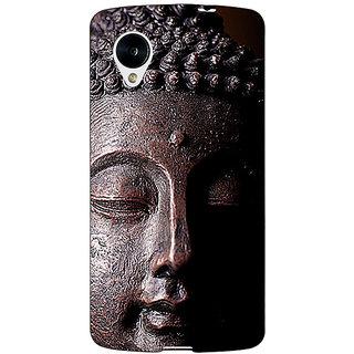 Jugaaduu Gautam Buddha Back Cover Case For Google Nexus 5 - J41285