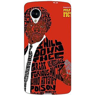Jugaaduu Pulp Fiction Back Cover Case For Google Nexus 5 - J40354