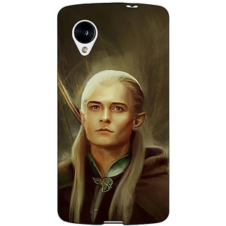Jugaaduu LOTR Hobbit  Back Cover Case For Google Nexus 5 - J40375