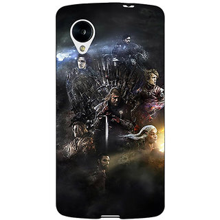 Jugaaduu Game Of Thrones GOT All Back Cover Case For Google Nexus 5 - J41535