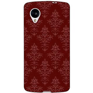 Jugaaduu Indian Pattern Back Cover Case For Google Nexus 5 - J41437