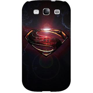 Jugaaduu Superheroes Superman Back Cover Case For Samsung Galaxy S3 - J50035