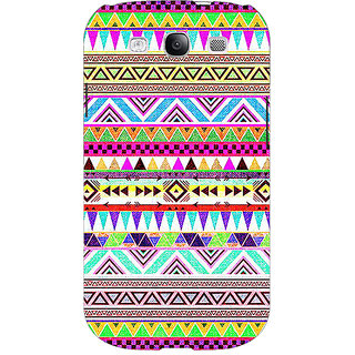 Jugaaduu Aztec Girly Tribal Back Cover Case For Samsung Galaxy S3 - J50051