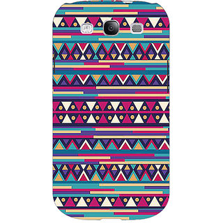 Jugaaduu Aztec Girly Tribal Back Cover Case For Samsung Galaxy S3 - J50063