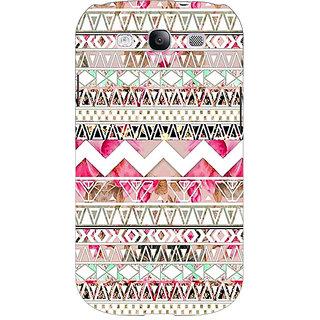 Jugaaduu Aztec Girly Tribal Back Cover Case For Samsung Galaxy S3 - J50066