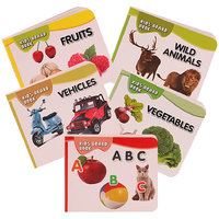 Pocket Series Book Set of 5 - Alphabets, Fruits, Vegetables, Animals and Vehicle