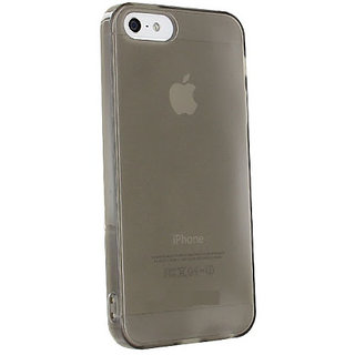 Callmate Soft Back Case For iPhone 4 With Screen Guard- White