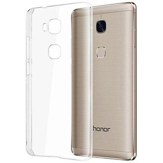 Soft Jelly Back Case Cover For Huawei Honor 5X Transparent Clear