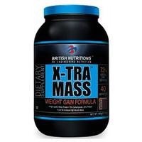 British Nutritions X-Tra Mass - 500 G   Chocolate