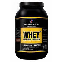 British Nutritions Whey Platinum Standard - 1 Kg French Vanila