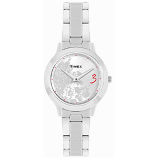 Timex White Analog Watch For Women TI000T60000