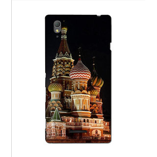Instyler Premium Digital Printed 3D Back Cover For Sony Xperia T3 3DSONYT3DS-10108