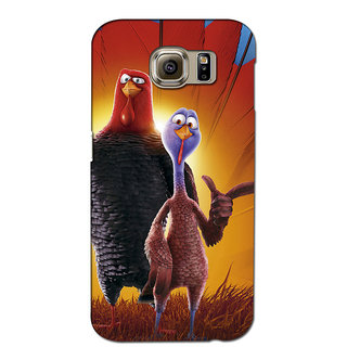 Instyler Premium Digital Printed 3D Back Cover For Samsung Glaxy Note 5 Edge 3DSGN5EDS-10151