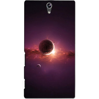Instyler Premium Digital Printed 3D Back Cover For Sony C5 Dual 3DSONYC5DDS-10287
