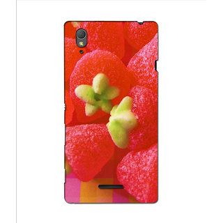 Instyler Premium Digital Printed 3D Back Cover For Sony Xperia T3 3DSONYT3DS-10260