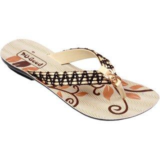 Pu-Good Super Comfort Stylish Ladies Flat Slippers