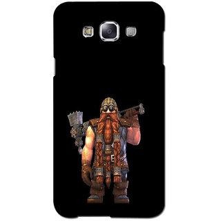 Instyler Premium Digital Printed 3D Back Cover For Samsung Glaxy J5 3DSGJ5DS-10126