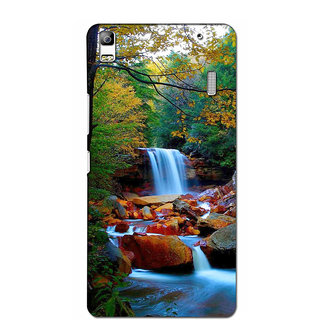 Instyler Premium Digital Printed 3D Back Cover For Lenovo A7000 3DLEN7000DS-10183