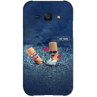 Instyler Premium Digital Printed 3D Back Cover For Samsung Glaxy J1 3DSGJ1DS-10209