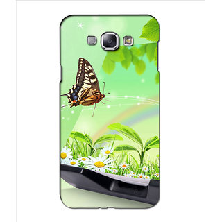 Instyler Premium Digital Printed 3D Back Cover For Samsung Glaxy A8 3DSGA8DS-10276