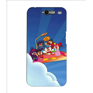 Instyler Premium Digital Printed 3D Back Cover For Infocus M812 3DINFOCUSM812DS-10133