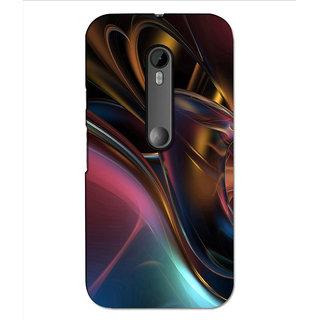 Instyler Premium Digital Printed 3D Back Cover For Moto G3 3DMOTOG3DS-10181