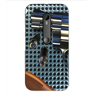 Instyler Premium Digital Printed 3D Back Cover For Moto G3 3DMOTOG3DS-10196