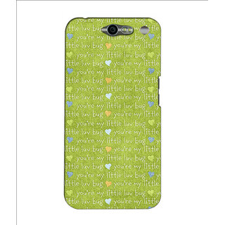 Instyler Premium Digital Printed 3D Back Cover For Infocus M812 3DINFOCUSM812DS-10240