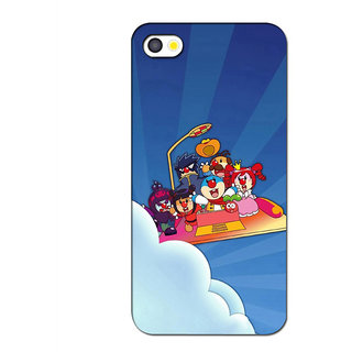 Instyler Premium Digital Printed 3D Back Cover For Apple I Phone 5S 3DIP5SDS-10133
