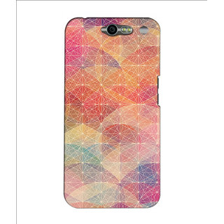 Instyler Premium Digital Printed 3D Back Cover For Infocus M812 3DINFOCUSM812DS-10061