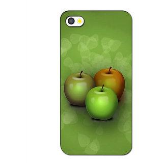 Instyler Premium Digital Printed 3D Back Cover For Apple I Phone 5 3DIP5DS-10213