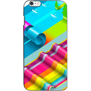 Instyler Premium Digital Printed 3D Back Cover For Apple I Phone 6 3DIP6DS-10169