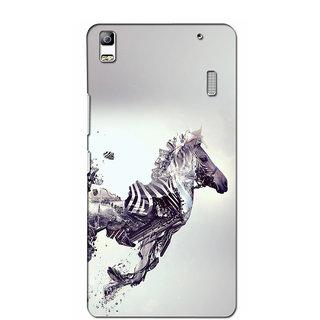 Instyler Premium Digital Printed 3D Back Cover For Lenovo K3 Note 3DLENK3NDS-10295