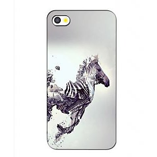 Instyler Premium Digital Printed 3D Back Cover For Apple I Phone 5 3DIP5DS-10295