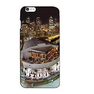 Instyler Premium Digital Printed 3D Back Cover For Apple I Phone 6 Plus 3DIP6PDS-10228