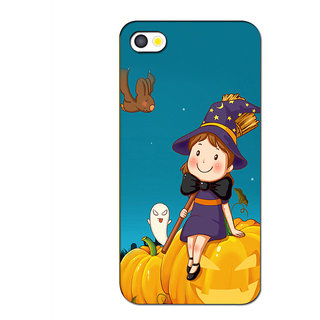 Instyler Premium Digital Printed 3D Back Cover For Apple I Phone 4S 3DIP4SDS-10113