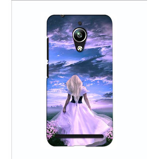 Instyler Premium Digital Printed 3D Back Cover For Asus Zen Fone Go 3DASUSGODS-10187