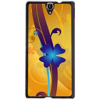 Instyler Digital Printed Back Cover For Sony Xperia -C5 Dual SONYC5DDS-10101