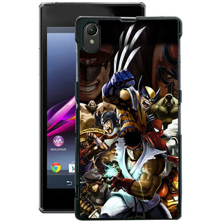 Instyler Digital Printed Back Cover For Sony Xperia Z1 SONYZ1DS-10299