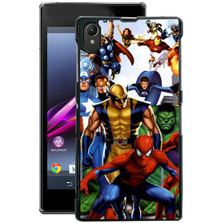 Instyler Digital Printed Back Cover For Sony Xperia Z1 SONYZ1DS-10300
